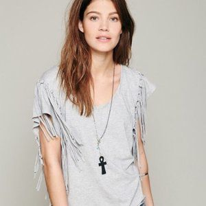 Free People Fantasy Fringe Top